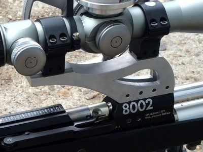 Raptor scope rail for Anschütz