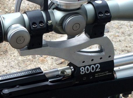 Raptor scope rail for Anschütz