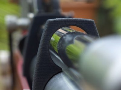 The second part protects the barrel and hold the air cylinder
