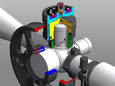 How it works? Cutaway 3d visual