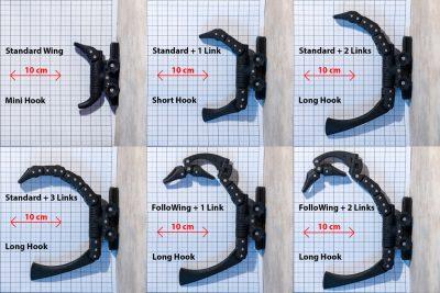 Scorpion Hook sizes